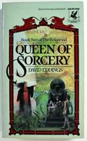 Queen of Sorcery 2 by David Eddings, The Belgariad 2, 1986 Del Rey Paperback