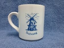 Solvang California Windmill Coffee Mug Cup Danish Community