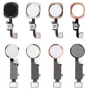 OEM Home Button Touch ID Key Flex Cable Replacement For iPhone 6 6S 7 8 Plus
