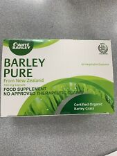 SANTE BARLEY PURE ORGANIC BARLEY FROM NEW ZEALAND 60 CAPSULES 500mg Per Capsule