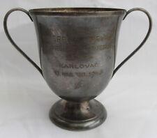 VINTAGE WATER POLO CUP TROPHY KINGDOM OF YUGOSLAVIA JUNIOR CHAMPIONSHIP 1940!!!