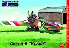 """Kovozavody prostejov 1/72 Avia B-9 """"Military"""" # 7276"""
