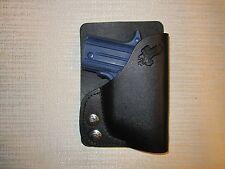 SIG SAUER P938 with factory laser or CT laser, LEFT HAND wallet & pocket holster