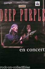 Deep Purple Rare Original French Concert Poster Jon Lord Gillan Glover