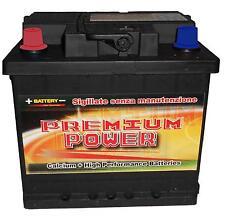 Batteria Auto 50 Ah (Sx) -  2 Anni di garanzia Calcio/Calcio +30% Spunto (420A)