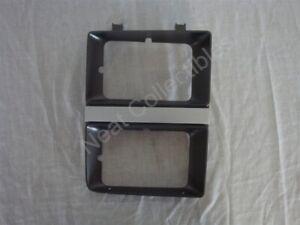 NOS GMC Sierra Jimmy C K 1500 2500 3500 Head Light Door Bezel 1983 -84 Dark Gray