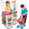 Kids Toy Supermarket Till Console Shop Groceries Trolley Accessories Play Funny