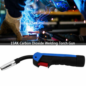 15AK Carbon Dioxide MIG/MAG Welding Torch Gun Head for 150A-250A welding