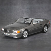 NOREV Collection 1:18 Scale 1989 Mercedes Benz 500SL Roadster Diecast Car Model