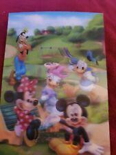 Disney 3d Lenticular Collector Card