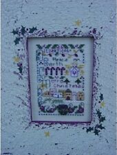 December: A Year In Stitches Cross Stitch Chart w/Button by Shepherd's Bush
