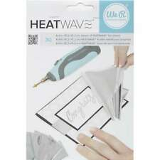"""We R Memory Keepers Heatwave Foil Sheets 4""""X6"""" 30/Pkg-Silver New"""