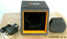 LIV STACKABLE SMALL WATCH WINDER SWWB 100 SWISS N930 NATO BLUE ORANGE LINES 22MM