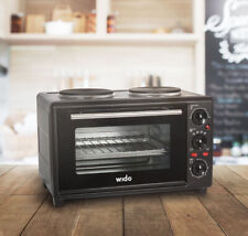 Wido 23L PORTABLE ELECTRIC STAINLESS STEEL COUNTER TOP OVEN CARAVAN BOAT HOB