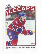 2015-16 St. John's IceCaps (AHL) Christian Thomas (Rögle BK)