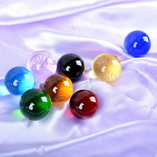 Lot 8pcs Quartz Crystal Ball 40mm Sphere ORB Healing Crytals 8 Natural Color
