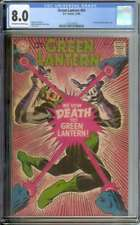 GREEN LANTERN #64 CGC 8.0 OW/WH PAGES