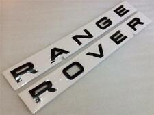 GENUINE RANGE ROVER L405 SPORT L494 BONNET BOOT BADGE LETTERS *GLOSS BLACK*