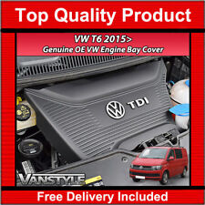 VW T6 CARAVELLE 2015> GENUINE VW OEM OE ENGINE COVER PROTECTION PIECE BAY TRIM