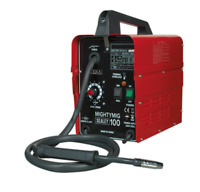 New Sealey MIGHTYMIG100 No Gas MIG Welder 100 Amp 230v Electric Gasless Wire