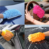 1pc/2pcs/5pcs/10pcs Microfiber Car Kitchen Household Washing Cleaning Glove