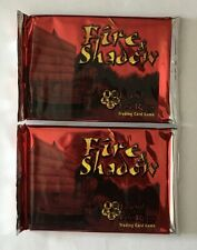 WoTC - Legend of the FIve Rings CCG Fire & Shadow Boosters (x2) *NEW*