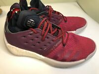 Adidas Harden Vol. 2 Red Ruby White Mens Basketball Shoes James Harden Size 10
