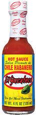 El Yucateco Red Habanero - Hot Mexican Chilli Sauce