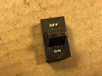 Vintage 1960s Brown Plastic Knob Cover for on/off switch Voice of Music