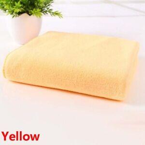 Soft Face Cloth Wash Handkerchief Car Scrubbing Cleaning Microfibre Towel