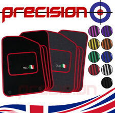Tailor Fitted Car Mats for Fiat 500 with 500 Logo 2013 to 2018