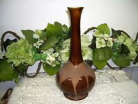 Royal Haeger Vase USA Dark Brown