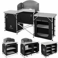 KESSER® Campingküche Alu Küchenbox Campingschrank Faltschrank Windschutz Outdoor