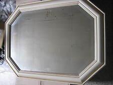 Spiegel im Holzrahmen cremfarben ca 80x60cm Spiegel ca.66x45cm 2631
