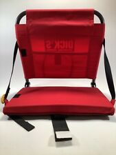 Red GCI Outdoor Foldable Stadium Seat Dick's Sporting Goods