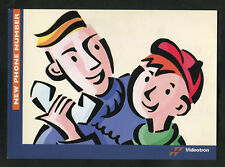 C2000 Advertising Card: Illustrated: Videotron: New Telephone Number