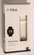 NEW  Fitbit Versa Classic Band Bracelet White Large Original Genuine Official