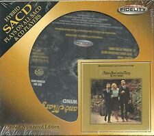 Peter Paul & Mary In The Wind Hybrid-SACD Audio Fidelity NEU OVP Sealed Lit. Ed