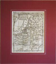 1751  BUFFIER, PAESI BASSI OLANDA BELGIO HOLLAND BELGIUM BELGIQUE PAYS-BAS CARTA