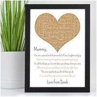 PERSONALISED Birthday Gifts for Mummy Mum Nanny Granny Special Mummy Mam Mom