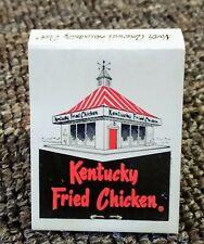 RARE 1960s KENTUCKY FRIED CHICKEN MATCHBOOK...FULL...Newton, Kansas