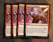 Mtg harnessed lightning  x 4 great condition