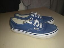 Vans Off The Wall blue canvas