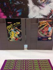 Skate or Die 1 & 2 Double Trouble  - Nintendo NES - Cleaned Tested Authentic