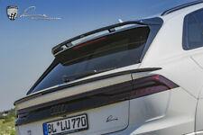 Audi Q8 Lumma rear spoiler lip Clr 8S 3-pcs 2020