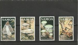 Samoa 1985 Fungi Set MNH