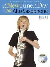 New Tune a Day for Alto Saxophone with CD