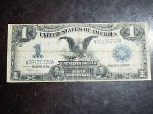 Series of 1899 $1 Black Eagle Silver Certificate
