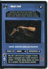 Star Wars CCG Dagobah Limited BB Hound's Tooth
