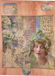 Dreams: A Collage--Junk Journals, Stamperia, Graphic 45, Mixed Media, Journals